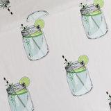 iced tea light grey  - cotton lawn_