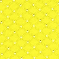 Eyelet geel - katoen