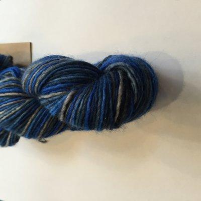 silk blend Blue mountain
