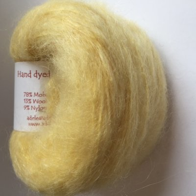 Adèles brushed mohair lemon