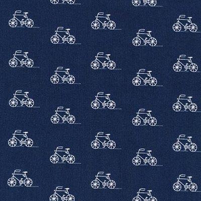 London calling Bike blauw