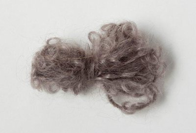 Adèles brushed mohair taupe