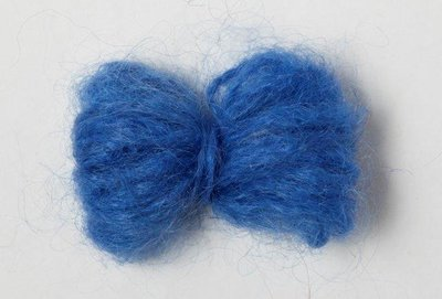 Adèles brushed mohair royal blue
