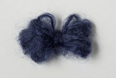 Adèles brushed mohair navy