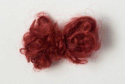 Adèles bouclé burnt red