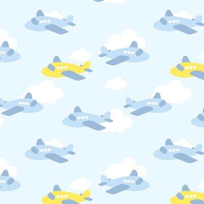 flannel airplane fun