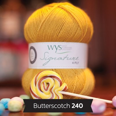 signature 4 ply 240 btterscotch
