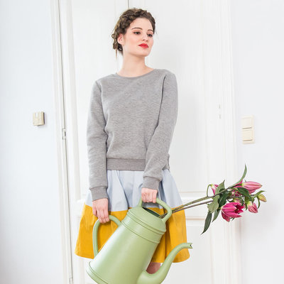 Bloom sweater grey
