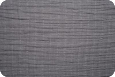 tetradoek / double gauze medium grey