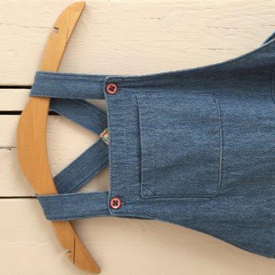 kleedje jeans 4 jaar