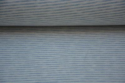 sweater ecru blauw gestreept
