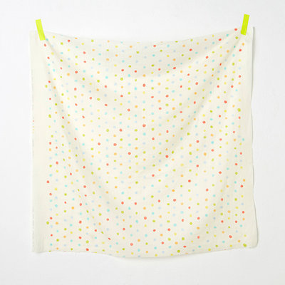 colorful pocho off white - double gauze