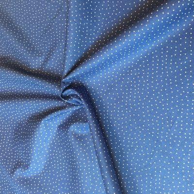 dot dark blue - katoen