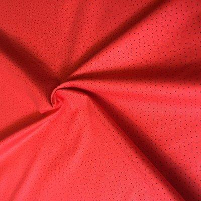 dot red - katoen