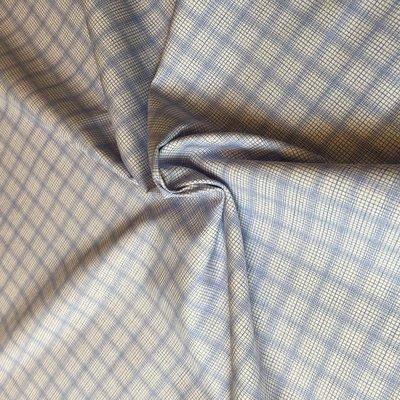 lines blue - katoen