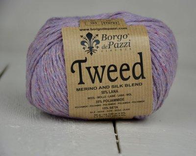 Borgo de pazzi Tweed lila 101