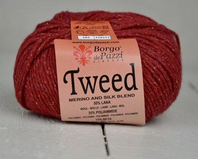 Borgo de pazzi Tweed rood 103