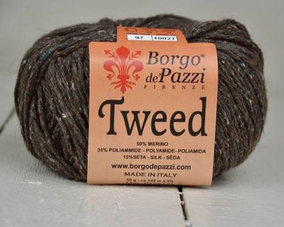 Borgo de pazzi Tweed bruin 97