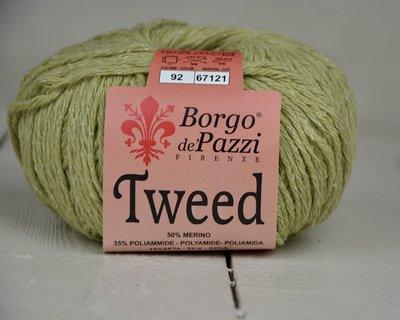 Borgo de pazzi Tweed groen 92