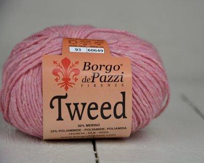 Borgo de pazzi Tweed licht roos 93