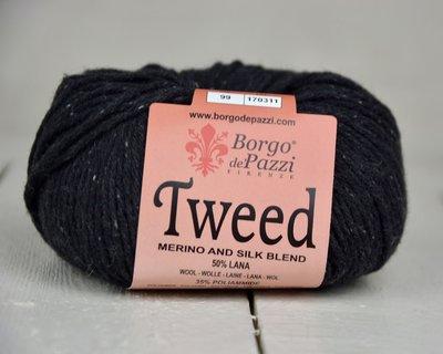 Borgo de pazzi Tweed zwart 99
