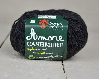 Borgo de pazzi Amore Cashmere Antraciet grijs / zwart 05