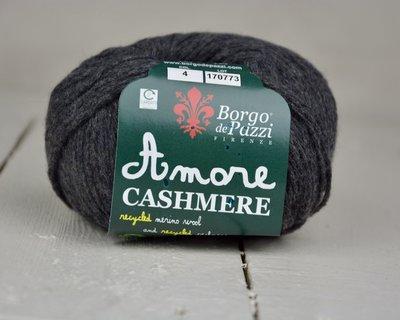 Borgo de pazzi Amore Cashmere Antraciet grijs 04