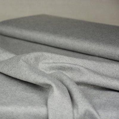 zachte flanel voor kleding grijs