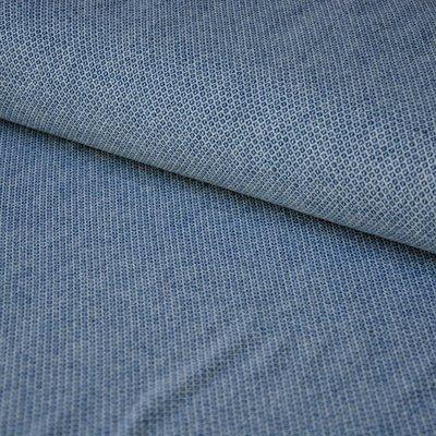 dunne wollen stof jeans blauw