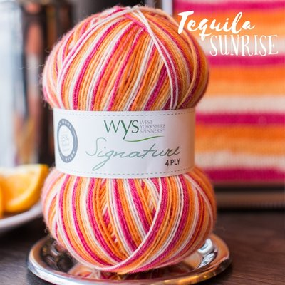 signature 4 ply 856 tequila sunrise