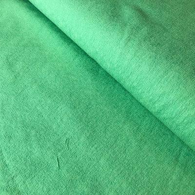 groen met relief- katoen