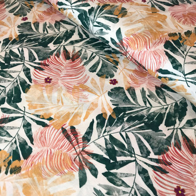 palmbladeren - katoen