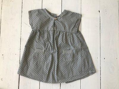 kleedje grijs 9 maanden
