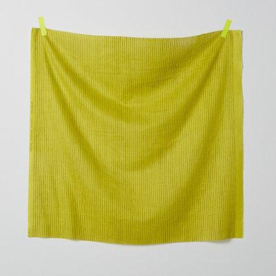 camino grey on mustard - double gauze