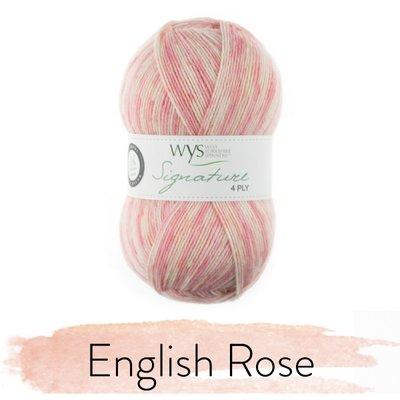 signature 4 ply english rose 806