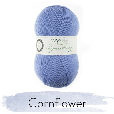 signature 4 ply cornflower 325