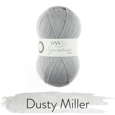 signature 4 ply dusty miller