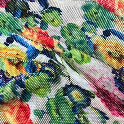 bloem - plissé met foutje