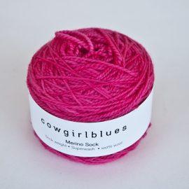 sock hot pink