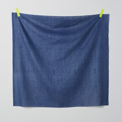 camino blauw - double gauze