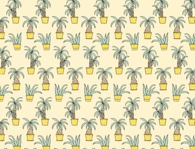 tropische planten - french terry