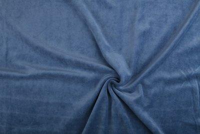 nicky velours jeans blauw