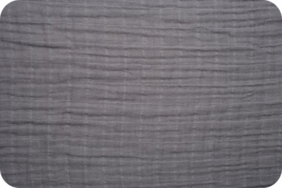 tetradoek / double gauze medium grey