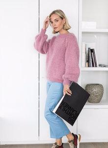 Breipakketje Leah (La Maison Victor) met alternatieve wol