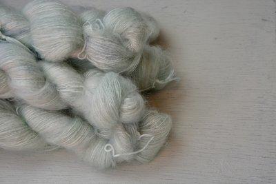 silk mohair Senne