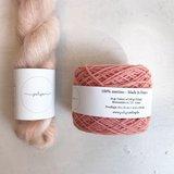 Breipakketje trui met strepen SM en merino_