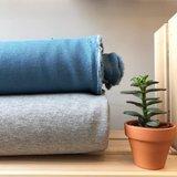 sweater met lurex licht grijs - sweater_
