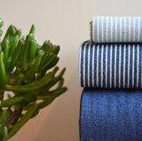 Licht blauw striped demin_