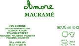 Borgo de pazzi Amore Cotton Macramé licht grijs_