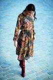 bloemen digitaal voor de Marion jurk - viscose_